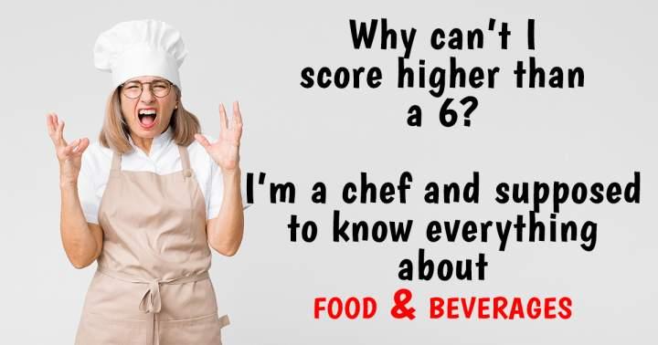 Unbeatable Food & Beverages Quiz