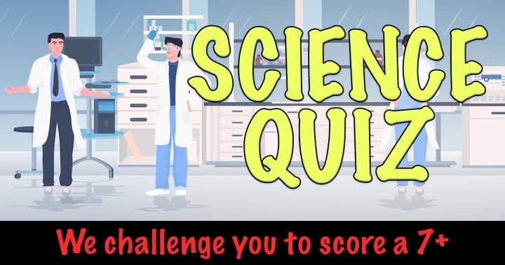 Challenging Science Quiz